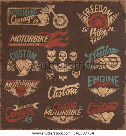 vintage motorcycling quality...