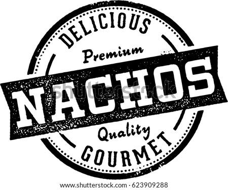 vintage nachos restaurant menu...