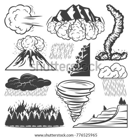 vintage natural disasters...