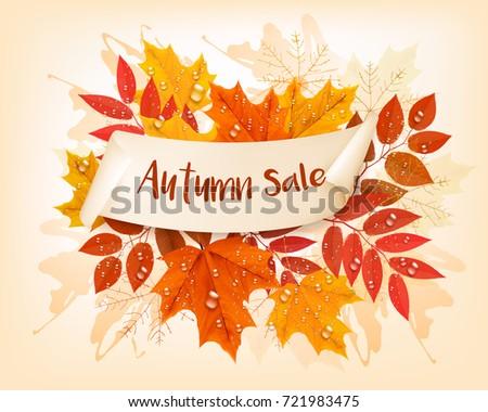 vintage nature autumn sale