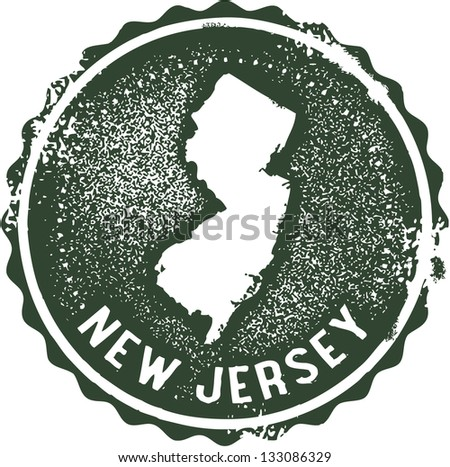 vintage new jersey usa state...