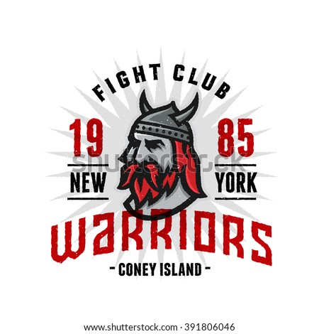 vintage new york warriors fight