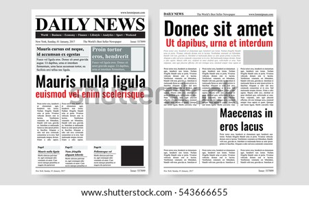 Free Old Newspaper Vector - Download Free Vector Art, Stock