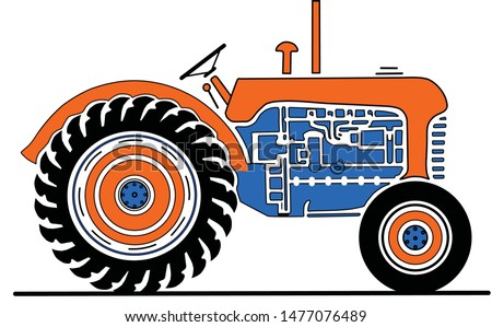 Tractor Clipart Smoke - Tractor Png , Free Transparent Clipart - ClipartKey