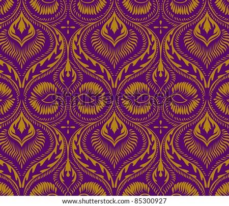 vintage ornament pattern