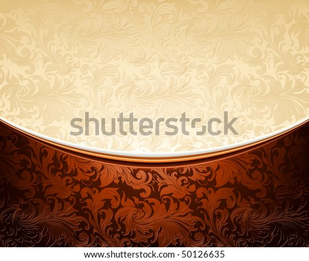 stock-vector-vintage-ornament-white-and-brown-vector