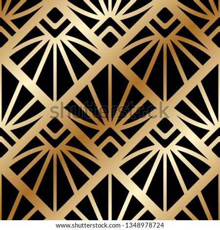vintage ornamental art deco