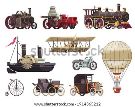 vintage passenger transport set