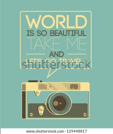 vintage photo camera says ...