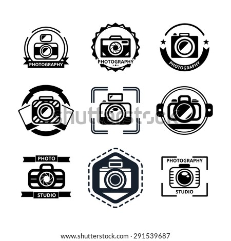 Photography Badges Vintage Photography Badges or