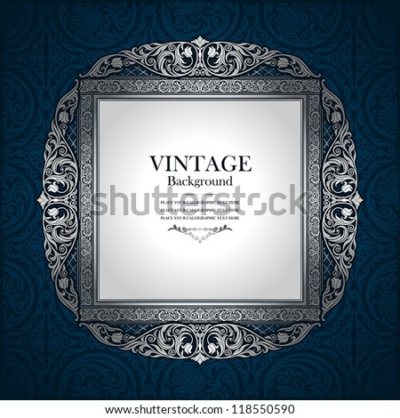 vintage picture wall frame wall