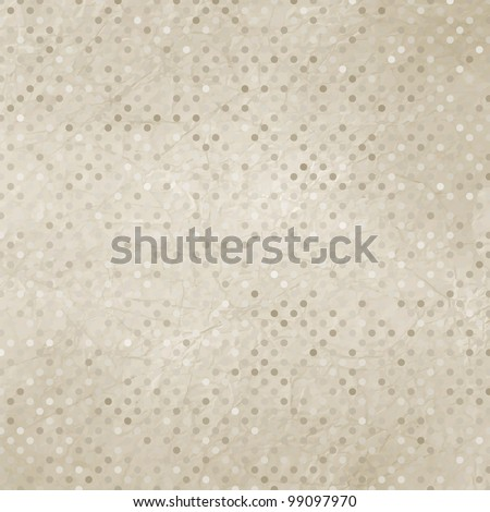 Vintage polka dot texture. And also includes EPS 8 vector