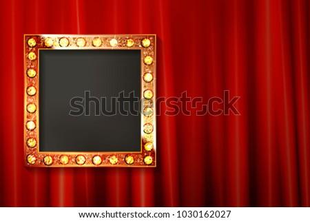 vintage portrait frame on