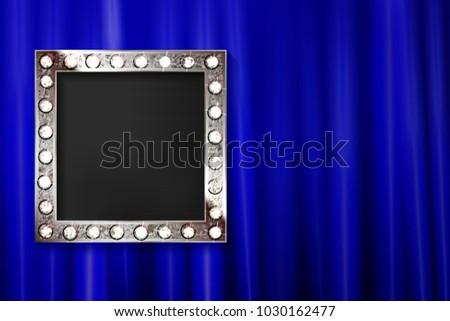 vintage portrait frame silver