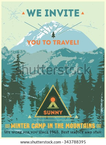 vintage poster journey to the...