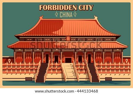 vintage poster of forbidden...