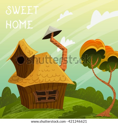 vintage poster sweet home