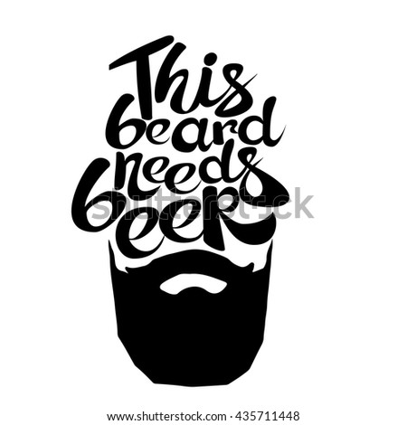 Vector Images Illustrations And Cliparts Vintage Poster This Beard