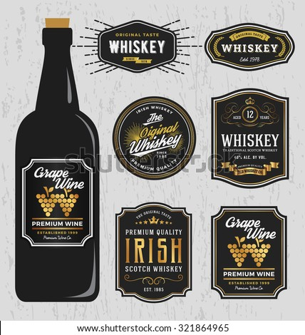 vintage premium whiskey brands
