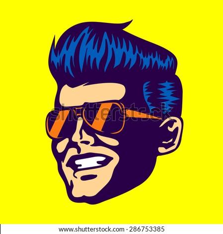 vintage retro cool dude man