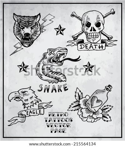 vintage   retro   tattoos