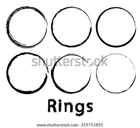 vintage rings set