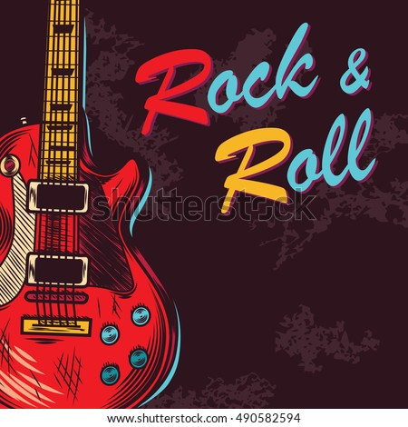 vintage rock and roll music