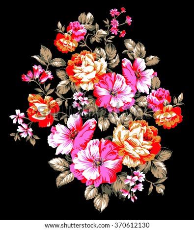 vintage rose flower