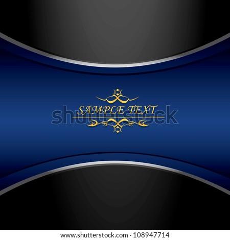 vintage royal dark blue and