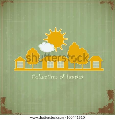 vintage rural estate symbol for ...