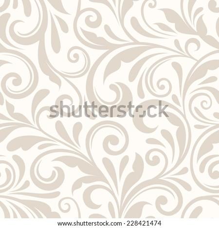 stock-vector-vintage-seamless-beige-floral-pattern-vector-illustration