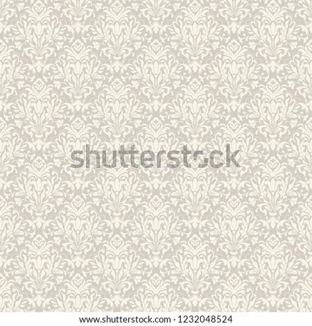 vintage seamless damask pattern