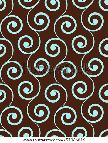 Vintage seamless pattern. - stock vector