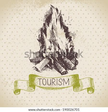 vintage sketch tourism...