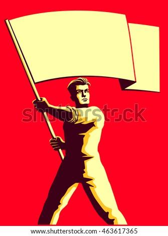 vintage soviet socialist