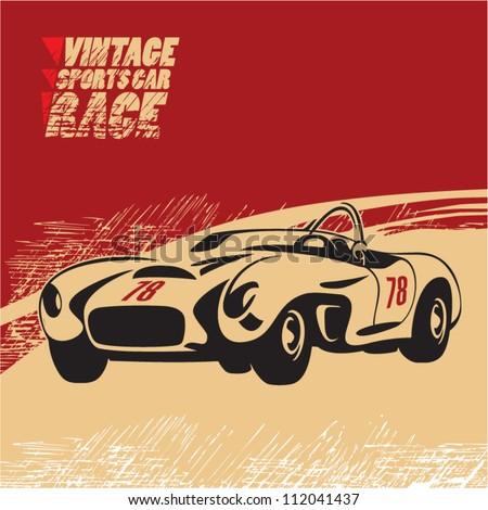 vintage sports car race