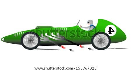 vintage sports racing car 4