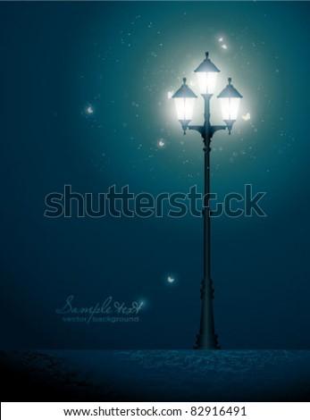Vintage street lantern