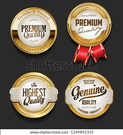 Vintage Style premium quality design vector collection