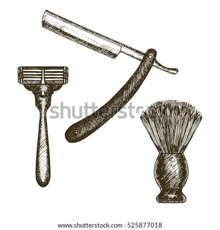vintage style shaving