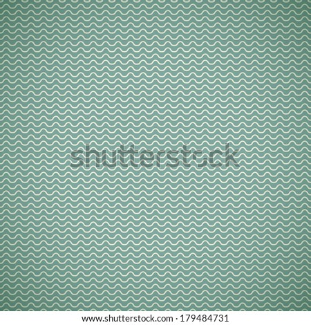 Vintage summer vector seamless pattern (with swath, tiling). Retro blue, shabby color. Endless texture can be used for printing onto fabric, paper, scrap booking. Abstract shape.