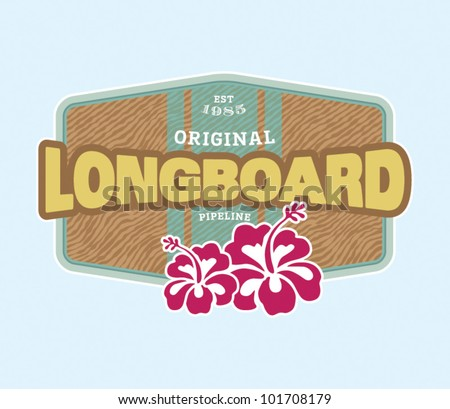 vintage surf crest