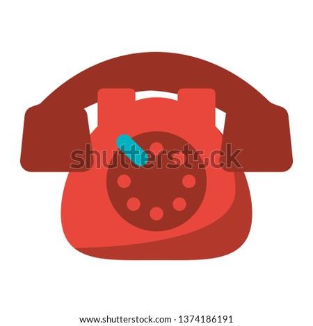 Vintage telephone communication device