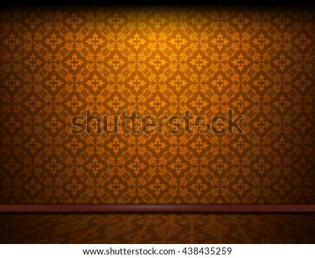 vintage texture pattern gold