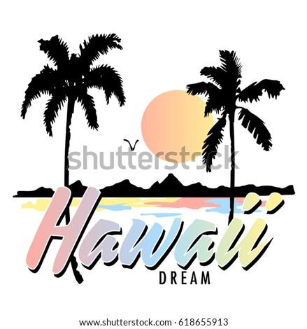 vintage tropical graphic....