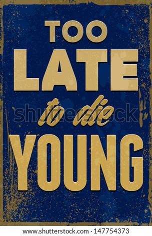 vintage typography vector...