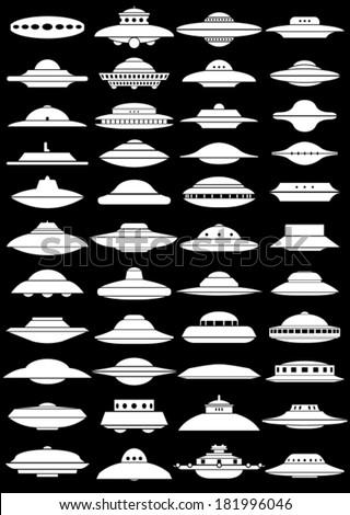 vintage ufo flying saucer