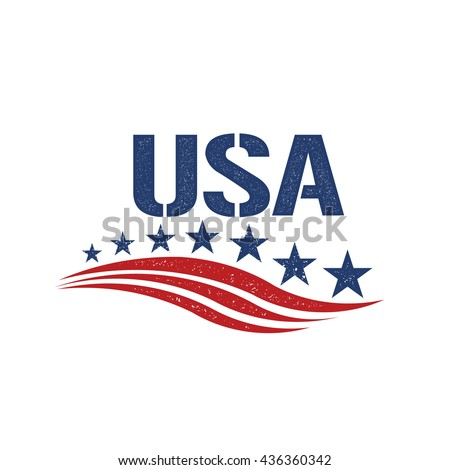 vintage usa patriot logo