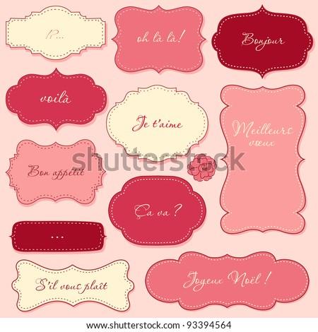 Vintage Valentine Frames