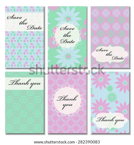 Vintage vector card templates can be used for save the date baby can be used for save the date baby shower filmwisefo